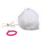 Trixie piłka z kocimiętką na gumce - 7cm