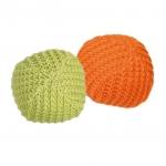 Trixie kolorowe, wełniane piłki dla kota - 2 szt.