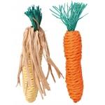 Trixie sizalowa marchew i kukurydza dla gryzoni