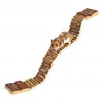 Trixie drewniana drabinka dla gryzoni - 7x55cm
