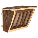 Trixie drewniany karmnik, paśnik na siano - 20cm