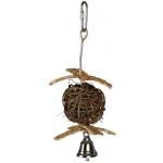 Trixie piłka z dzwonkiem dla ptaków - 18cm