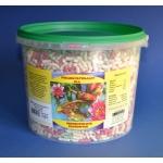 Pokarm dla ryb stawowych, koi, pałeczki mix - 3,3L