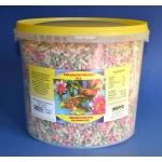 Pokarm dla ryb stawowych, koi, pałeczki mix - 5,5L