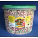 Pokarm dla ryb stawowych, koi, pałeczki mix - 11L