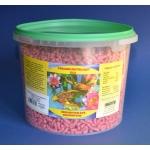 Pokarm wybarwiający dla ryb stawowych, koi - 3,3L