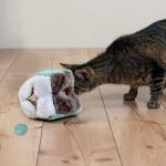 Trixie pluszowa kostka edukacyjna dla kota - 14cm