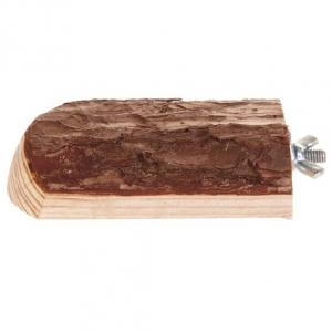 Trixie drewniana półka dla gryzoni - 7x10cm