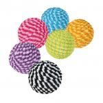 Trixie piłki ze sznurka dla kota - 4,5cm