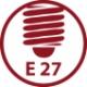 Promiennik emiter ceramiczny czarny - 20W