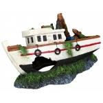 Trixie wrak łodzi rybackiej do akwarium - 15cm