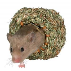 Trixie gniazdko z trawy dla chomika - 10cm