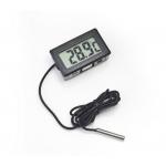 Termometr cyfrowy z czujnikiem i bateriami