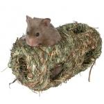 Trixie gniazdko z trawy dla chomika - 10x19cm