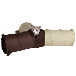 Trixie potrójny tunel dla kota - 3 x 50cm