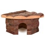 Trixie drewniany domek dla chomika, myszki