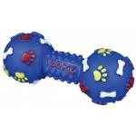 Trixie hantel piszczący dla psa - 15cm