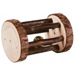Trixie drewniana rolka dla gryzoni - 5x7cm