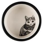 Trixie Zentangle miska ceramiczna dla kota - 0,30L