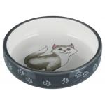 Trixie Cat miska ceramiczna, spodek dla kota - 0,30L