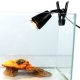 Lampa grzewcza z klamrą do terrarium