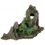 Trixie skały z drzewami do akwarium - 27cm