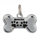Trixie metalowa adresówka dla psa - kość