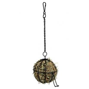 Trixie metalowa kula, uchwyt na siano - 8cm