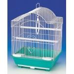 Klatka z wyposażeniem dla ptaków - 34,5x28x45,5cm