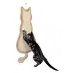 Trixie drapak w kształcie kota - 69x35cm