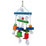 Trixie drewniana zabawka dla ptaków - 24cm