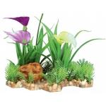 Trixie sztuczna roślinka z podłożem - 13cm
