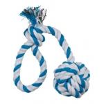 Trixie pleciona piłka na sznurku - 30cm