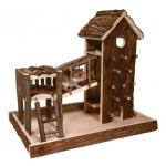 Trixie domek i plac zabaw dla chomika, myszki