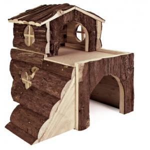 Trixie duży, drewniany domek dla gryzoni