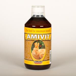 Amivit witaminy i aminokwasy dla królików - 1L
