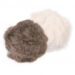 Trixie pluszowe piłki z kocimiętką dla kota - 2 szt.