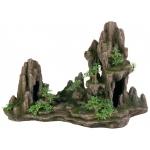 Trixie skały z drzewami do akwarium - 45cm