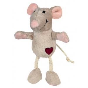 Trixie pluszowa mysz z kocimiętką dla kota - 11cm