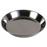 Trixie metalowa  miska, spodek dla kota - 0,25L